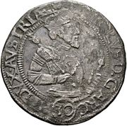 ½ thaler Archiduc Charles II Francois d'Autriche (Klagenfurt) – avers