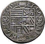 ½ thaler Archiduc Charles II Francois d'Autriche (Klagenfurt) -  revers