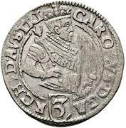 3 kreuzer Archiduc Charles II Francois d'Autriche (Klagenfurt) – avers