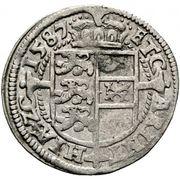 3 kreuzer Archiduc Charles II Francois d'Autriche (Klagenfurt) – revers
