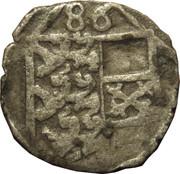 1 pfennig Archiduc Charles II Francois d'Autriche (Klagenfurt) – avers