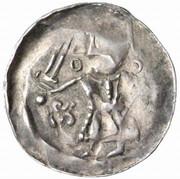 1 pfennig Heinrich V – avers