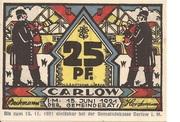 25 Pfennig (Carlow) – avers