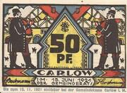 50 Pfennig (Carlow) – avers