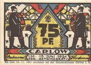 75 Pfennig (Carlow) – avers