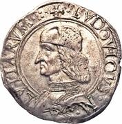 1 Cavalotto - Ludovico II (Carmagnola) – avers