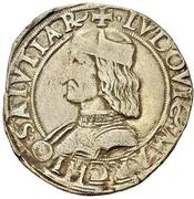 12 soldi - Ludovico II – avers