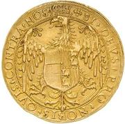 10 Scudi - Margherita di Foix and Ludovico II – revers
