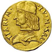 1 Ducato - Ludovico II – avers
