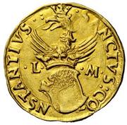 1 Ducato - Ludovico II – revers