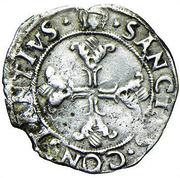 1 Soldino - Ludovico II – revers