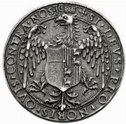 1 Tallero - Ludovico II and Margherita di Foix – revers