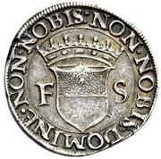 1 Testone - Francesco I – revers