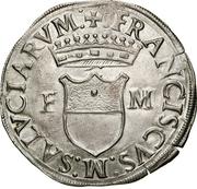 1 Cavallotto - Francesco I – avers