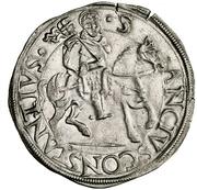 1 Cavallotto - Francesco I – revers