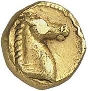 Dixième de statère d'or – avers