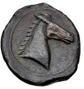 Shekel de bronze – revers