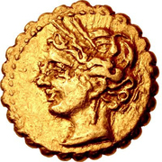 2/5 Stater – avers