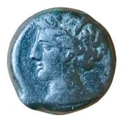 AE20 (Carthage) – avers
