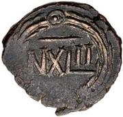 42 nummi (inscription régulière) – revers