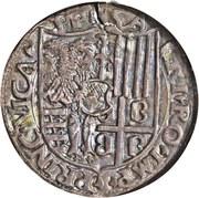 1 Testone - Guglielmo VII – revers