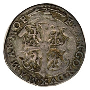 1 cavallotto - Francesco III – revers