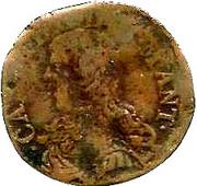 1 Soldo - Carlo II – avers