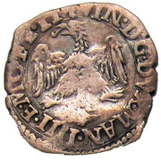 Parpagliola (2-1/2 Soldi) - Vincenzo I (Mantua) – avers