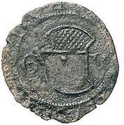 ¼ Grosso - Guglielmo VIII Paleologo – avers