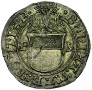 Grosso - Bonifacio III Paleologo – avers