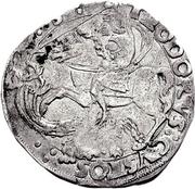 1 Cornuto - Guglielmo IX Paleologo – revers