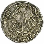 1 Teston - Bonifacio IV Paleologo – avers