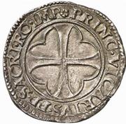 1 Testone - Bonifacio IV Paleologo – revers