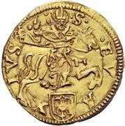 1 Ducat - Bonifacio IV Paleologo – revers