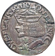 1 Testone - Guglielmo VII – avers