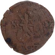 Quattrino 1580-Ferrante Gonzaga – revers