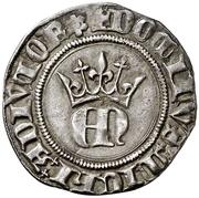 ½ real Henri II La Corogne – avers