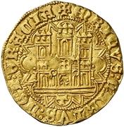 Castellano Henri IV Tolède – avers