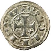 Dinero Alphonse I d'Aragon Tolède – revers