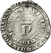 1 real Pierre I Burgos – avers