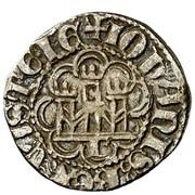1/6 real Jean II Burgos – avers