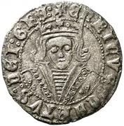 Cuartillo Henri IV Jaén – avers