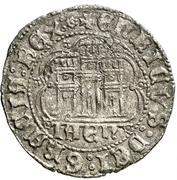 Cuartillo Henri IV Jaén – revers