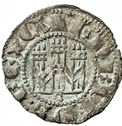 Dinero Henri III Séville – avers