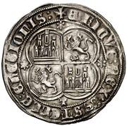 Real Henri II Tolède – revers