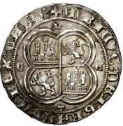 Real Henri III Tolède – revers