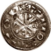 Dinero Alphonse VI Tolède -  revers