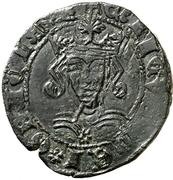 Cuartillo Henri IV Ávila – avers