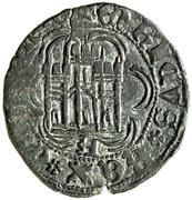 Cuartillo Henri IV Ávila – revers