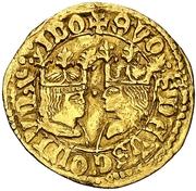 ½ castellano Ferdinand et Isabelle – avers